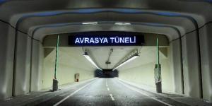 Avrasya Tüneli'ne gelenler şaştı kaldı!