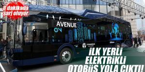 İlk yüzde 100 milli elektrikli otobüs TEMSA Avenue ev yola çıktı